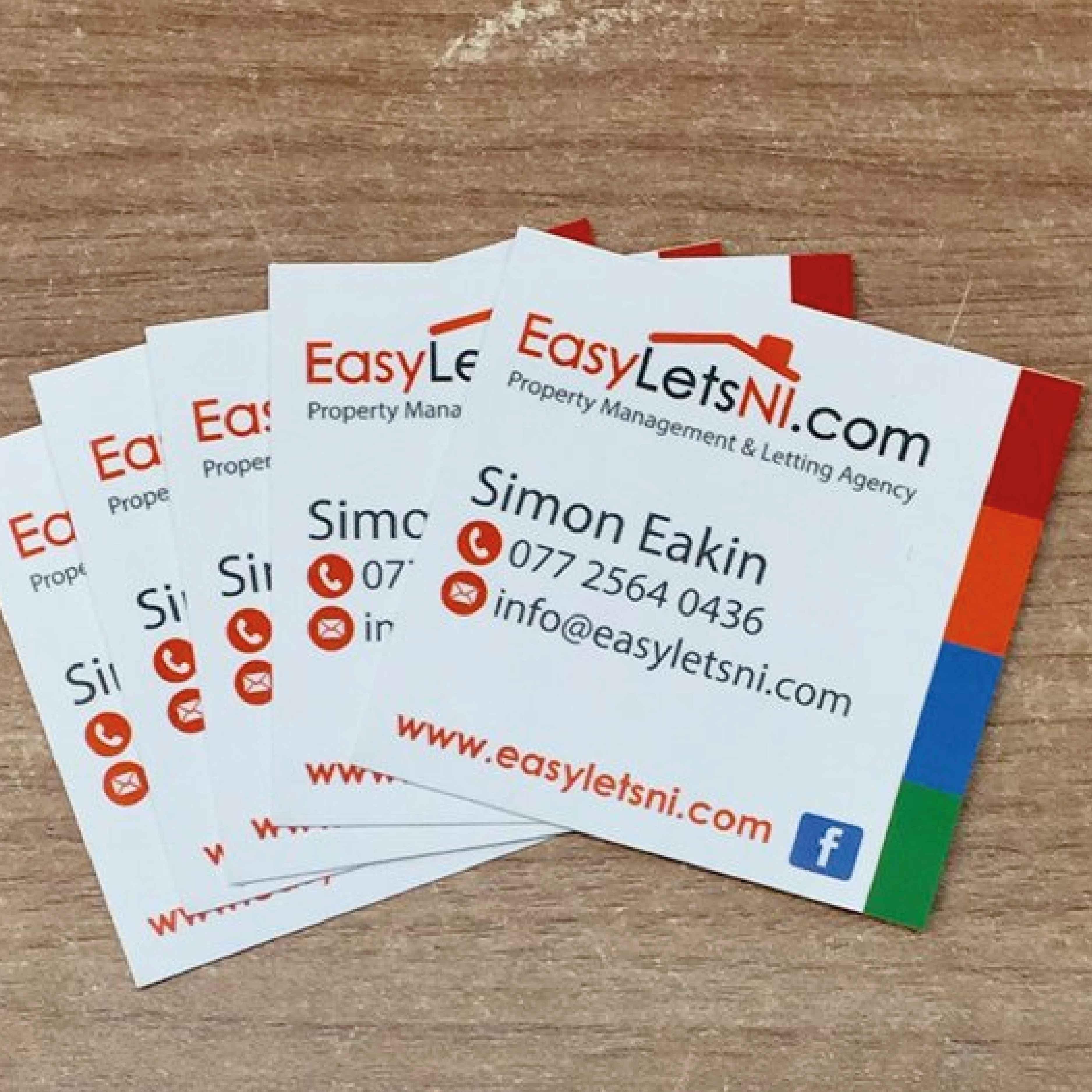 Business cards 30 web design graphic design logo design derry business cards 30 colourmoves